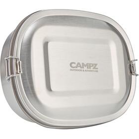 CAMPZ Madkasse i rustfrit stål S 700 ml, sølv